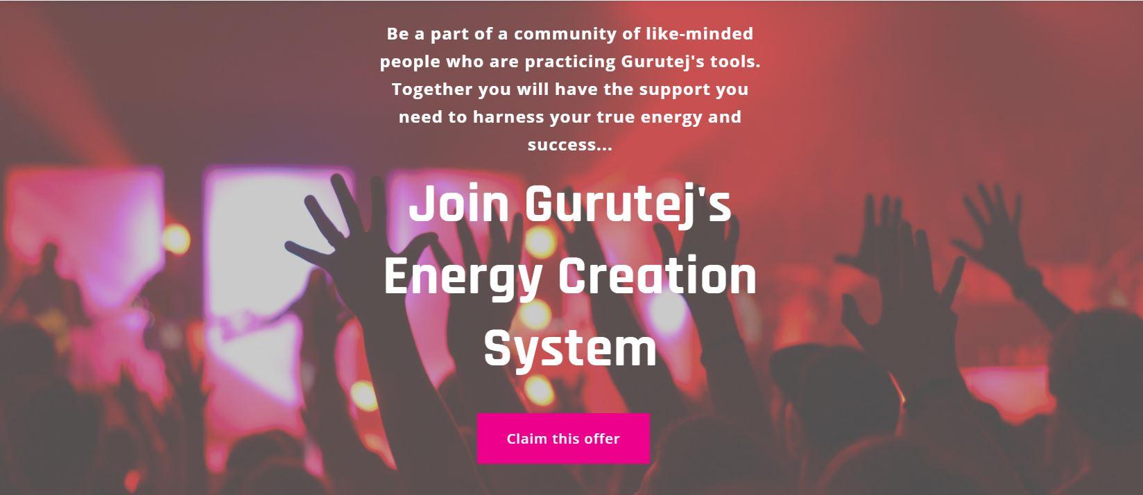 Energy Creation Systems | Kundalini Yoga Los Angeles | Gurutej